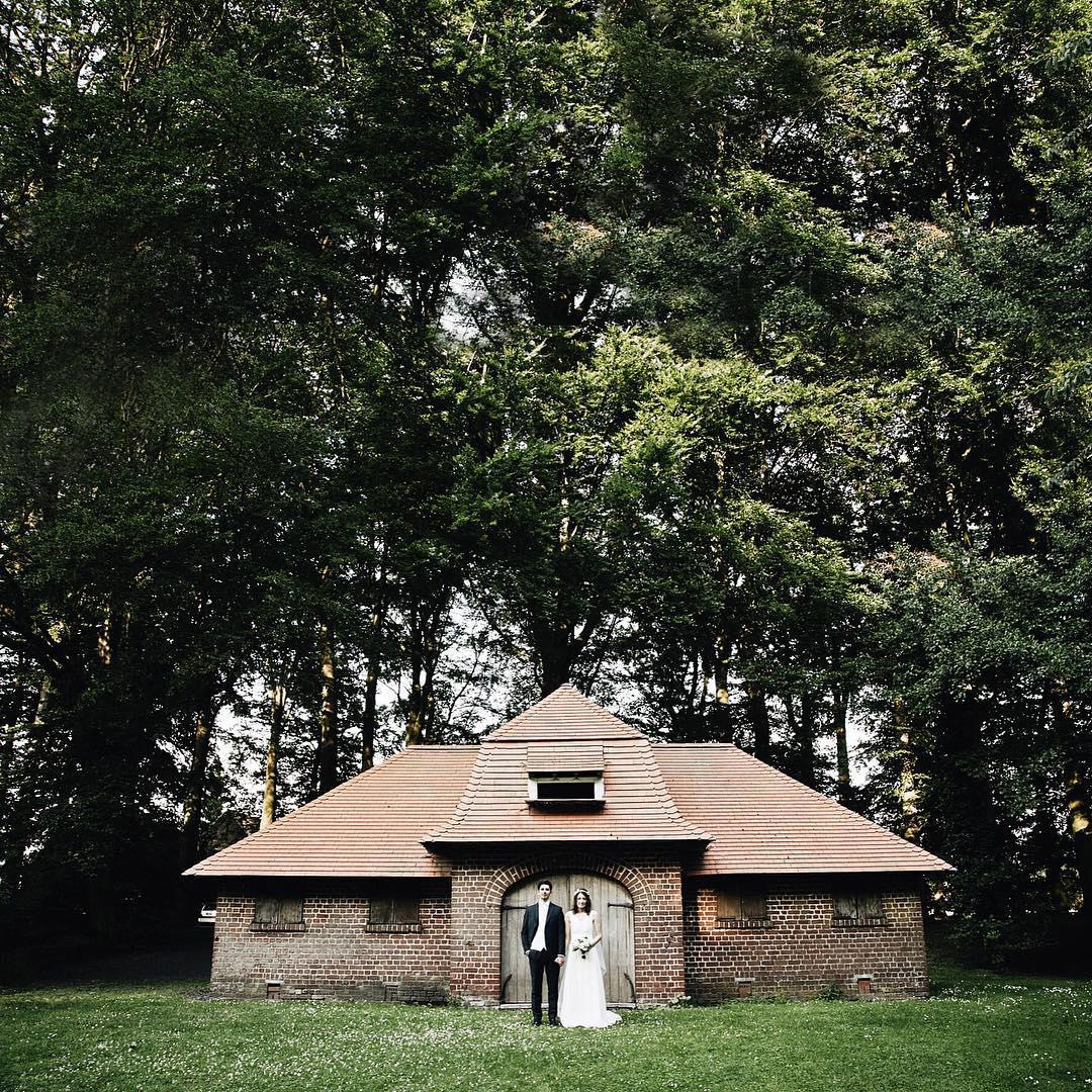 Hier le mariage dAnas redbeautyblog amp Damien dans un cadrehellip