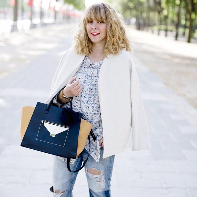 Nouveau look sur le blog @g_alaix @louizon_paris @spartoogram : www.lesdemoizelles.com