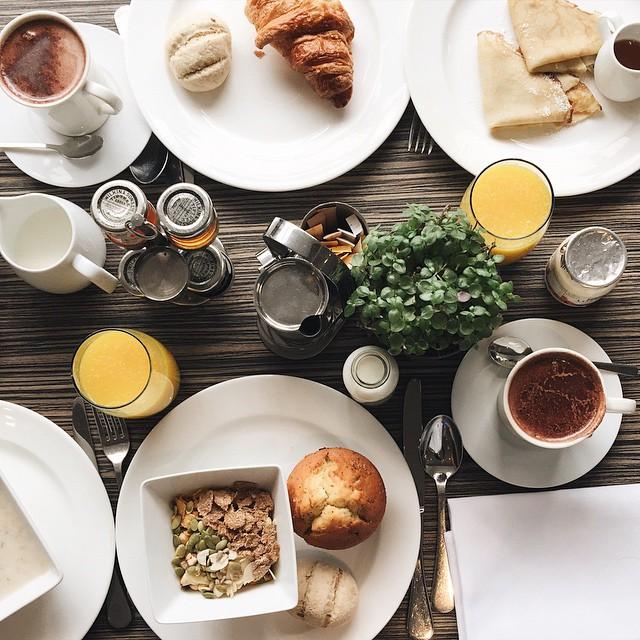 Le petit déjeuner des gourmands @radissonblu #radissonblu #radissonblulondon #instafood #breakfast