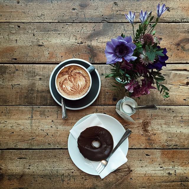 L'heure du goûter @ozonecoffeeuk #london #ozonecoffee #coffee