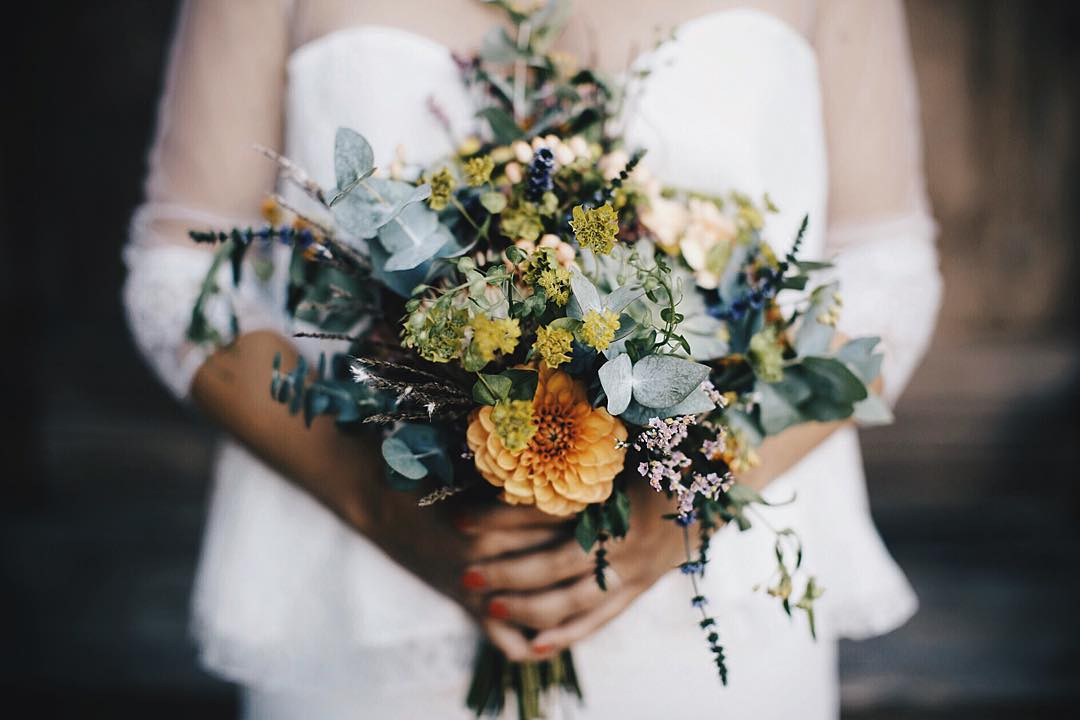 Le joli bouquet de marineetcie ralis par une fleuriste dehellip