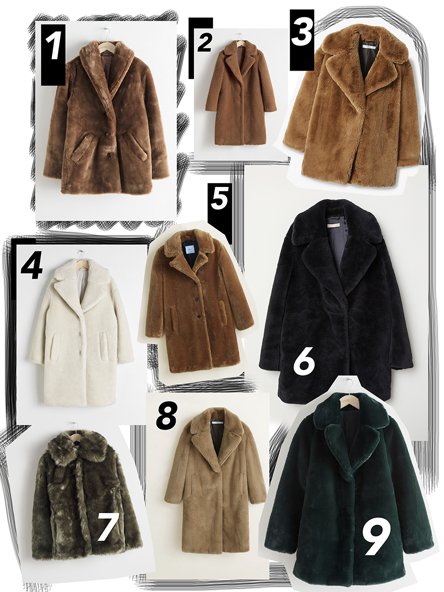 e7989361974 1  Manteau Marron mi-court marron    ici    – 2  Manteau marron effet  mouton    ici    – 3  Manteau marron mi long    ici    – 4  Manteau blanc  long    ici ...