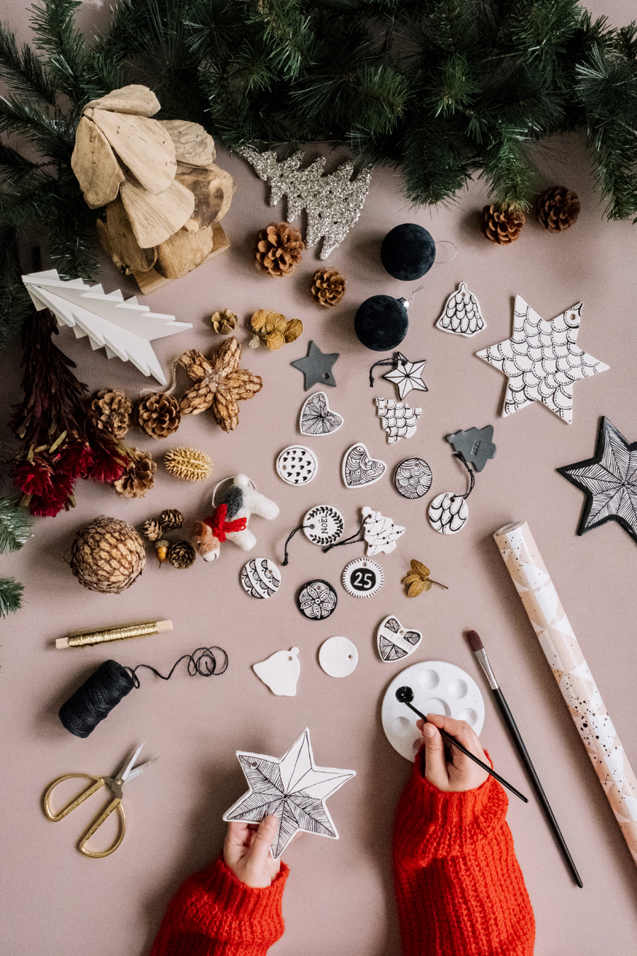 diy - creer ses decorations de noel - les demoizelles