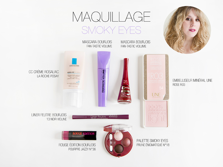 Maquillage smoky eyes les demoizelles les demoizelles - Maquillage smoky eyes ...